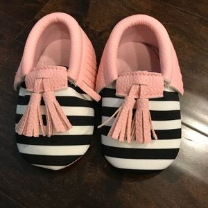 Other - Brand new moccasins baby shoes